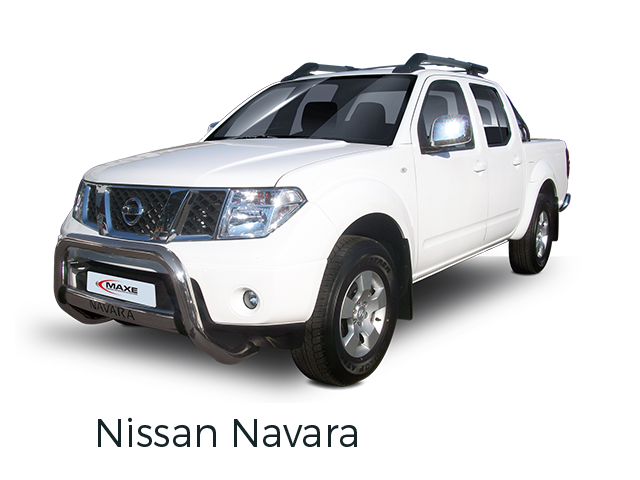 Nissan Navara fitted with accessories