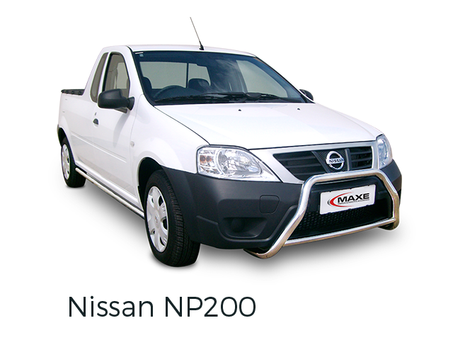 Nissan NP200 fitted with accessories