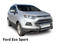 Ford Eco Sport with Stainless Steel Accessories